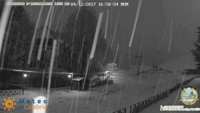 Sera-notte: ancora piogge e nevicate sui medio-basso Tirreno [DETTAGLI]