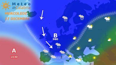 Mercoledì d'attesa. Poi un nuovo peggioramento che porterà neve sui monti...