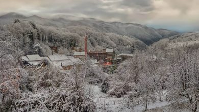 Notte nevosa anche a quote basse su tutta la Calabria [FOTO & DETTAGLI]