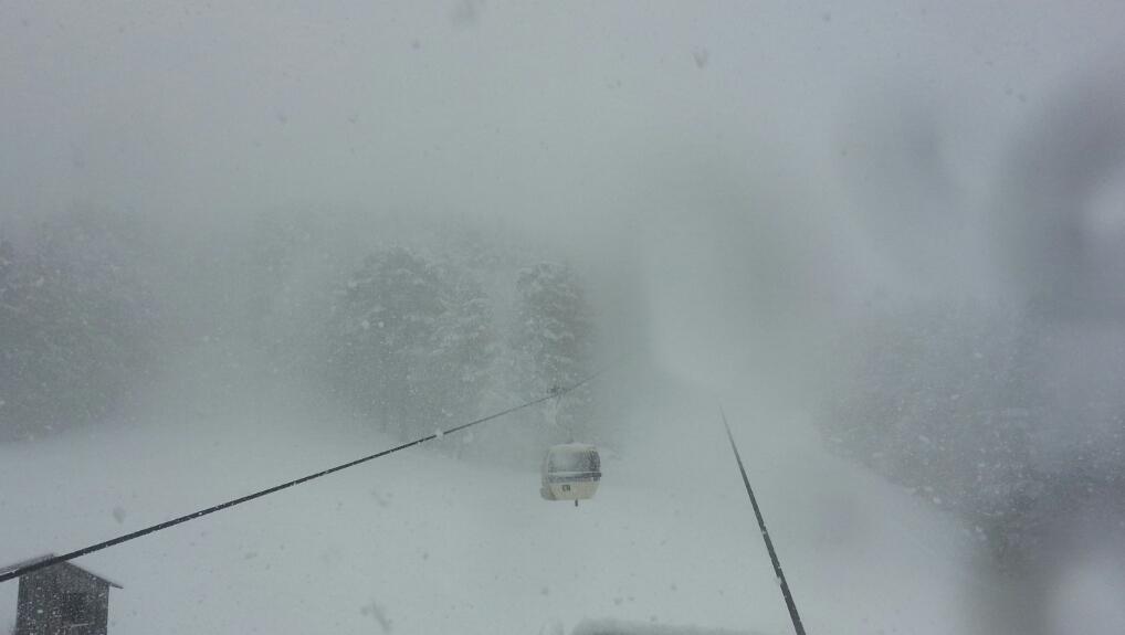 Sabato nevoso sui monti! Temperature in crollo [DETTAGLI]