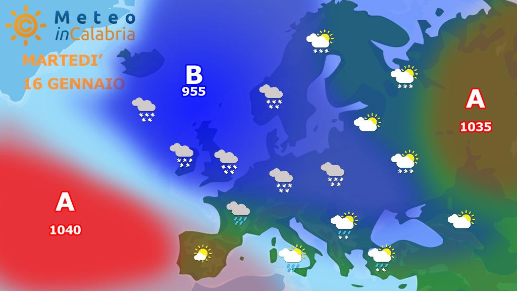 Ancora instabilità sulle tirreniche e venti in intensificazione...