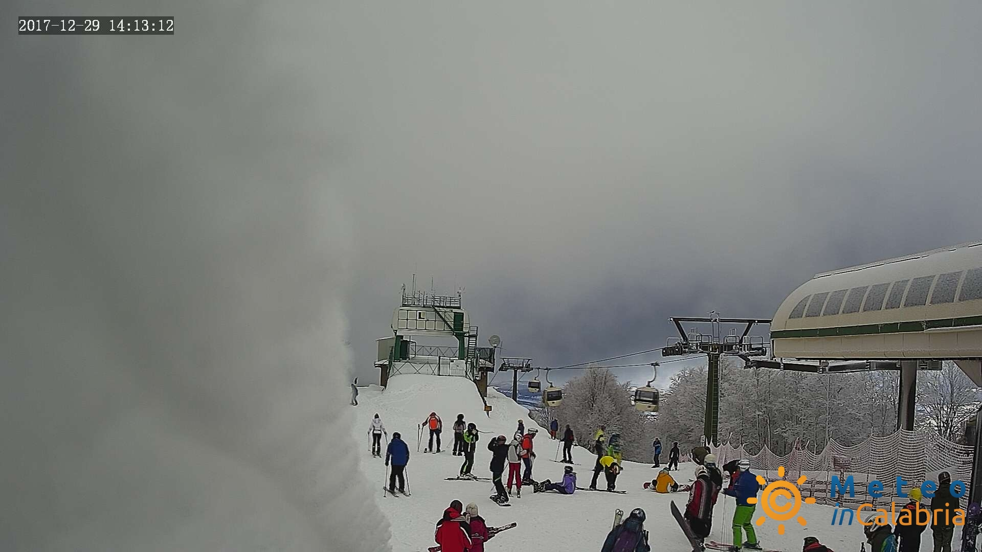 Resoconto dicembre 2017: mese freddo ovunque con neve sui monti, ma secco su ioniche...