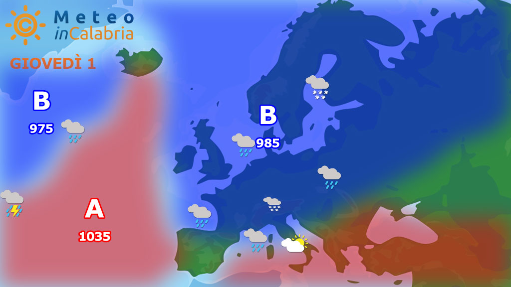 Dominio dell'alta pressione destinato a terminare: peggioramento da venerdì...