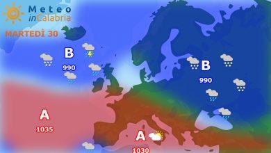 Situazione che non si sblocca: ancora nuvolosità sparsa e fenomeni quasi del tutto assenti...