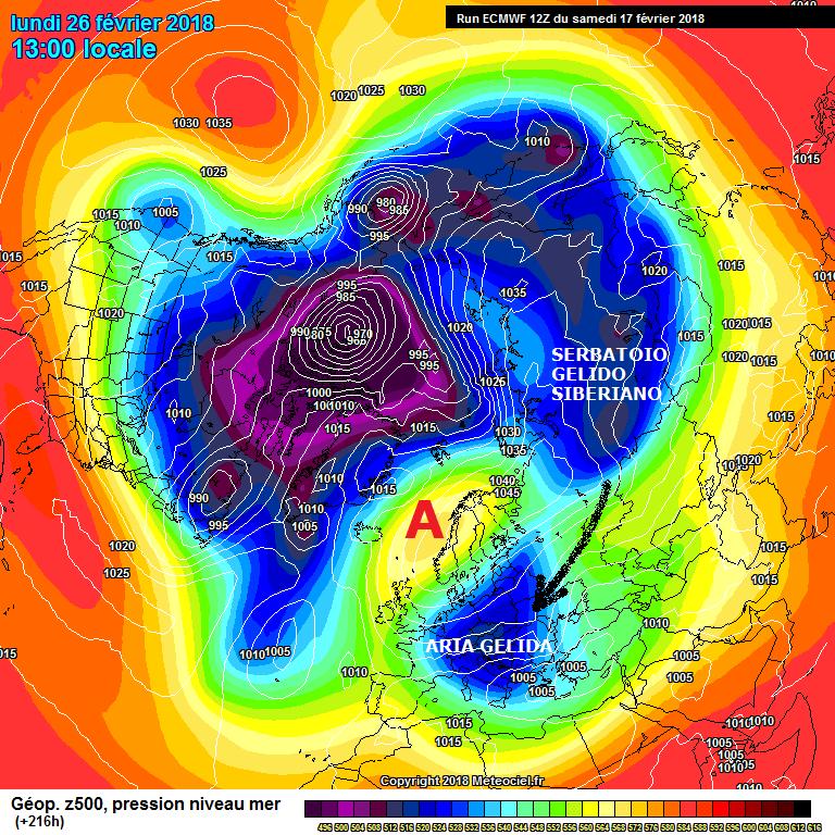 GELO in probabile partenza dalla Siberia...destinazione?