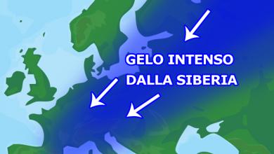 L'Europa si prepara ad una grande ondata di GELO SIBERIANO