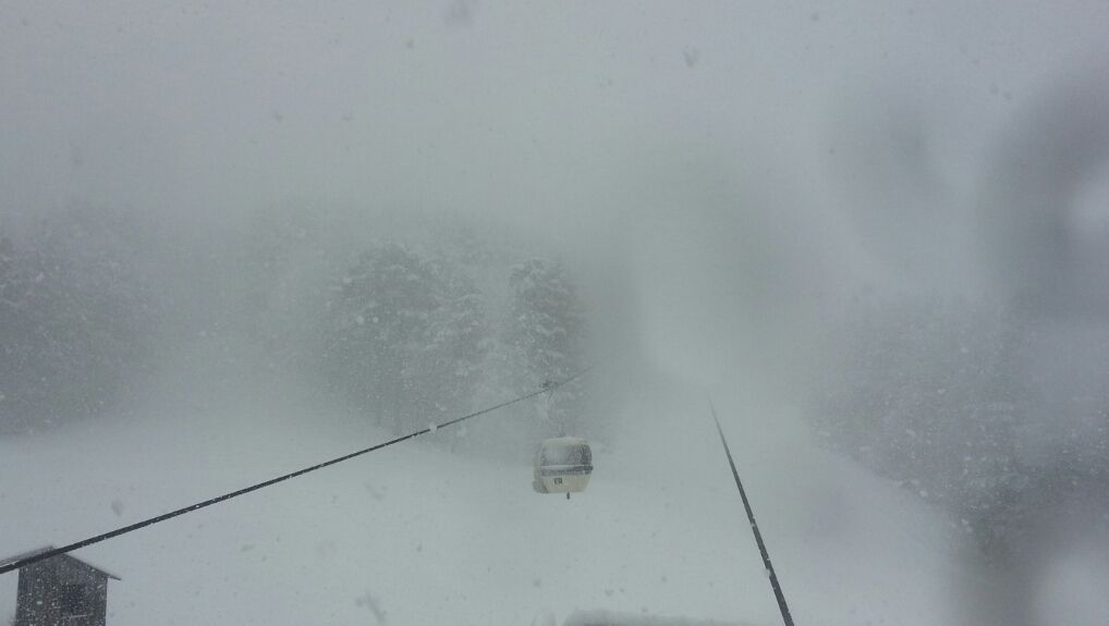 Weekend con ritorno delle piogge e della neve sui monti