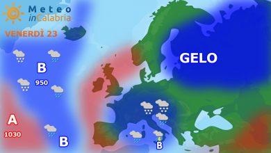 meteo di venerdì e sabato : deciso peggioramento a partire dai settori ionici meridionali