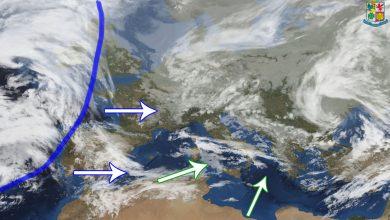 Meteo di mercoledì e giovedì: residui fenomeni instabili, poi generale miglioramento...