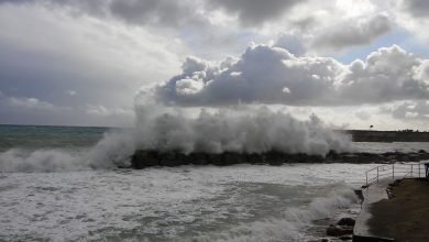 Venti forti e possibili mareggiate sui versanti tirrenici nelle prossime 12-24 ore