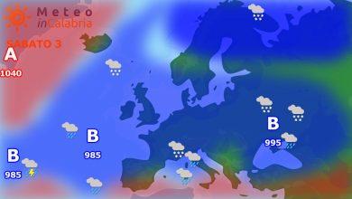 Meteo weekend: instabilità in un contesto mite...