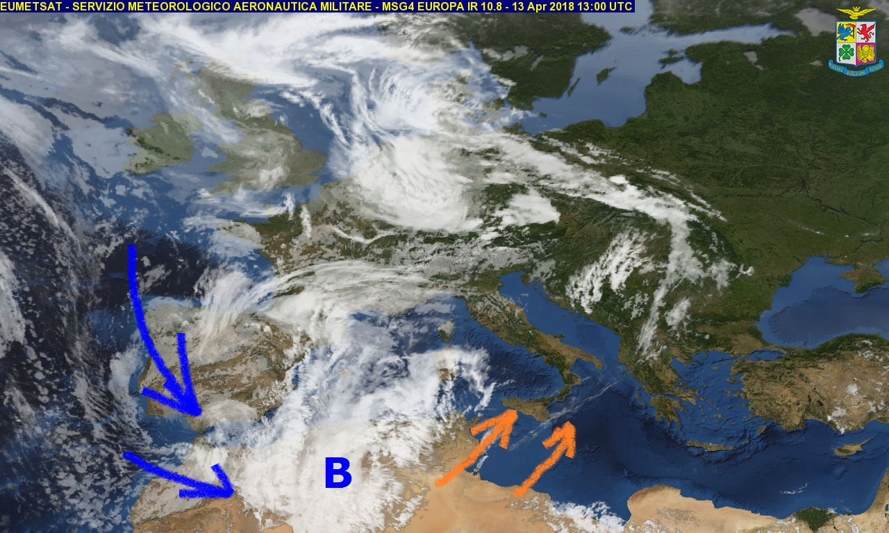 Meteo weekend: velature e venti forti