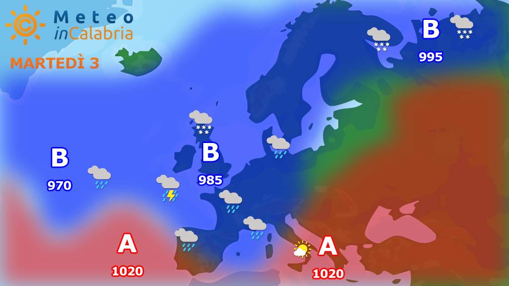 Meteo di martedì e mercoledì: tempo stabile con passaggio di nubi innocue