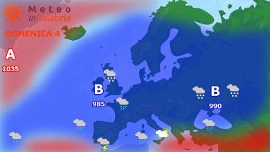 Meteo di domenica e lunedì: variabilità diffusa con pioggia a tratti