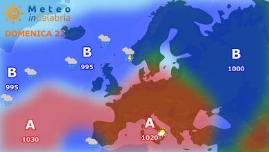 Meteo di domenica e lunedì: residua instabilità pomeridiana ma con anticiclone in rinforzo