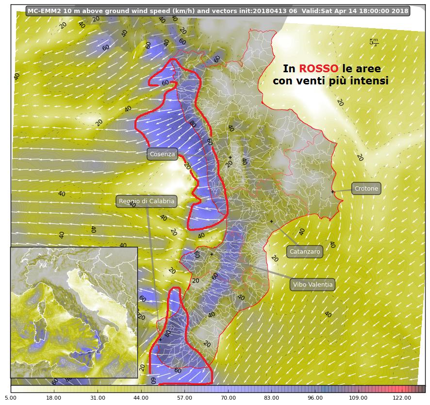 Focus sui venti del weekend: localmente forti [DETTAGLI e MAPPE]