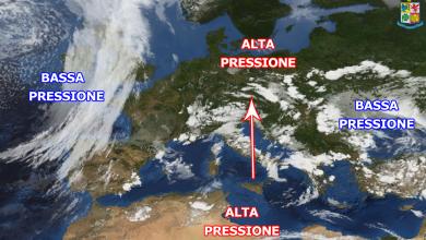 Giro d'Italia con tempo variabile. Locale instabilità pomeridiana sui monti.