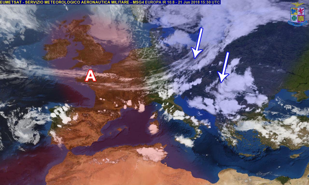 Sulla Calabria variabilità a tratti instabile per venerdì e sabato...