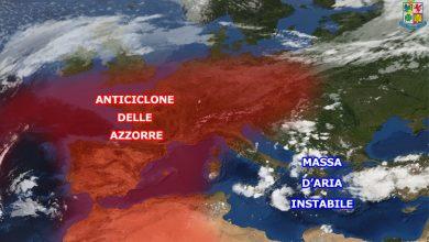 Rovesci e temporali anche per mercoledì sulla Calabria