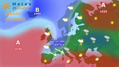 Weekend molto caldo, con picchi di 38°. Da lunedì si cambia registro...