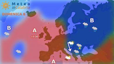 meteo di domenica e lunedì: modesta variabilità con locali deboli fenomeni instabili