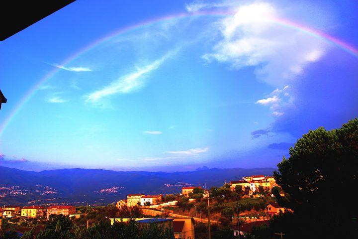 Sulla Calabria ancora possibili fenomeni instabili, ma in via di graduale indebolimento...