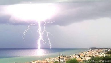 meteo di venerdì e sabato: tempo ancora instabile sulla Calabria