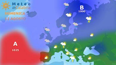 Domenica e lunedì ancora con instabilità pomeridiana sulle zone interne...