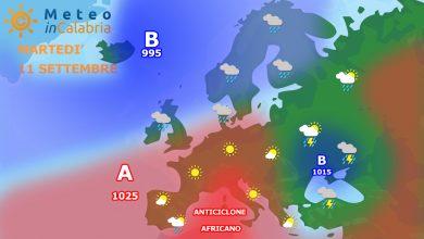 Martedì con disturbi localizzati ma in un contesto di bel tempo...