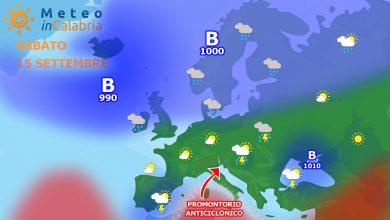 Meteo weekend: tempo in miglioramento ma con episodi instabili sui monti...