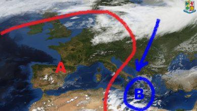 Venti di Grecale ancora protagonisti, temperature sotto media