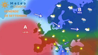 Ciclone tropicale sul Mediterraneo, ma la Calabria sarà evitata...