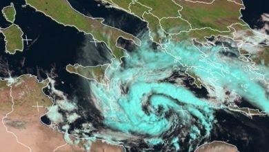 Un ciclone tropicale nel Mediterraneo: sarà tempesta o uragano?