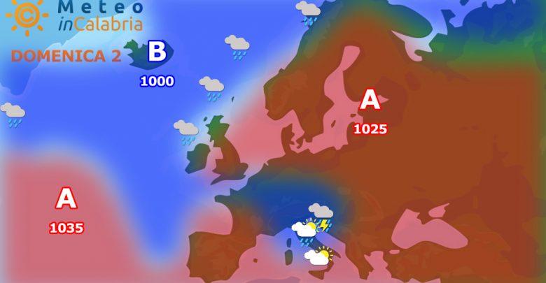 meteo di domenica 2 e lunedì 3 settembre: contenuto calo termico e modesta variabilità su alcune aree tirreniche