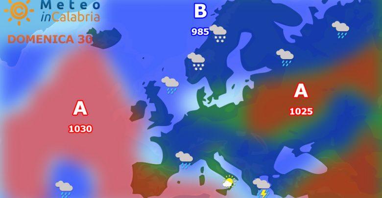 meteo di domenica e lunedì:tempo stabile con isolati disturbi sui rilievi