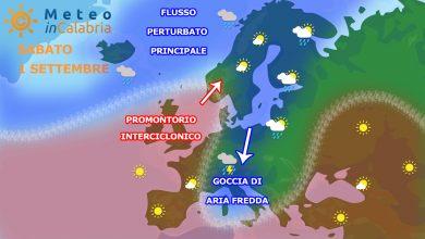 Sabato di bel tempo, in attesa di un peggioramento sull'alto Tirreno cosentino...