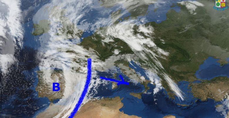 Nuovo peggioramento in vista per mercoledì sulla Calabria