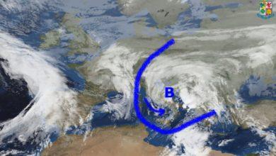 Meteo Calabria lunedì e martedì: maltempo con piogge, specie su Tirreniche