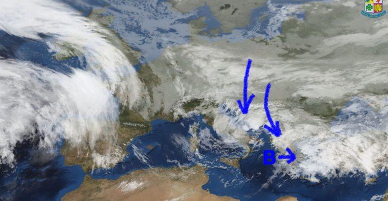 Meteo di mercoledì e giovedì: Graduale miglioramento con temperature in calo