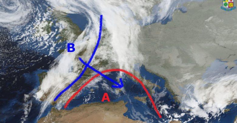 Venerdì bel tempo, sabato peggioramento in particolare sulle aree ioniche