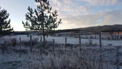 Tempo stabile e freddo, possibili gelate fino a valle nelle aree interne
