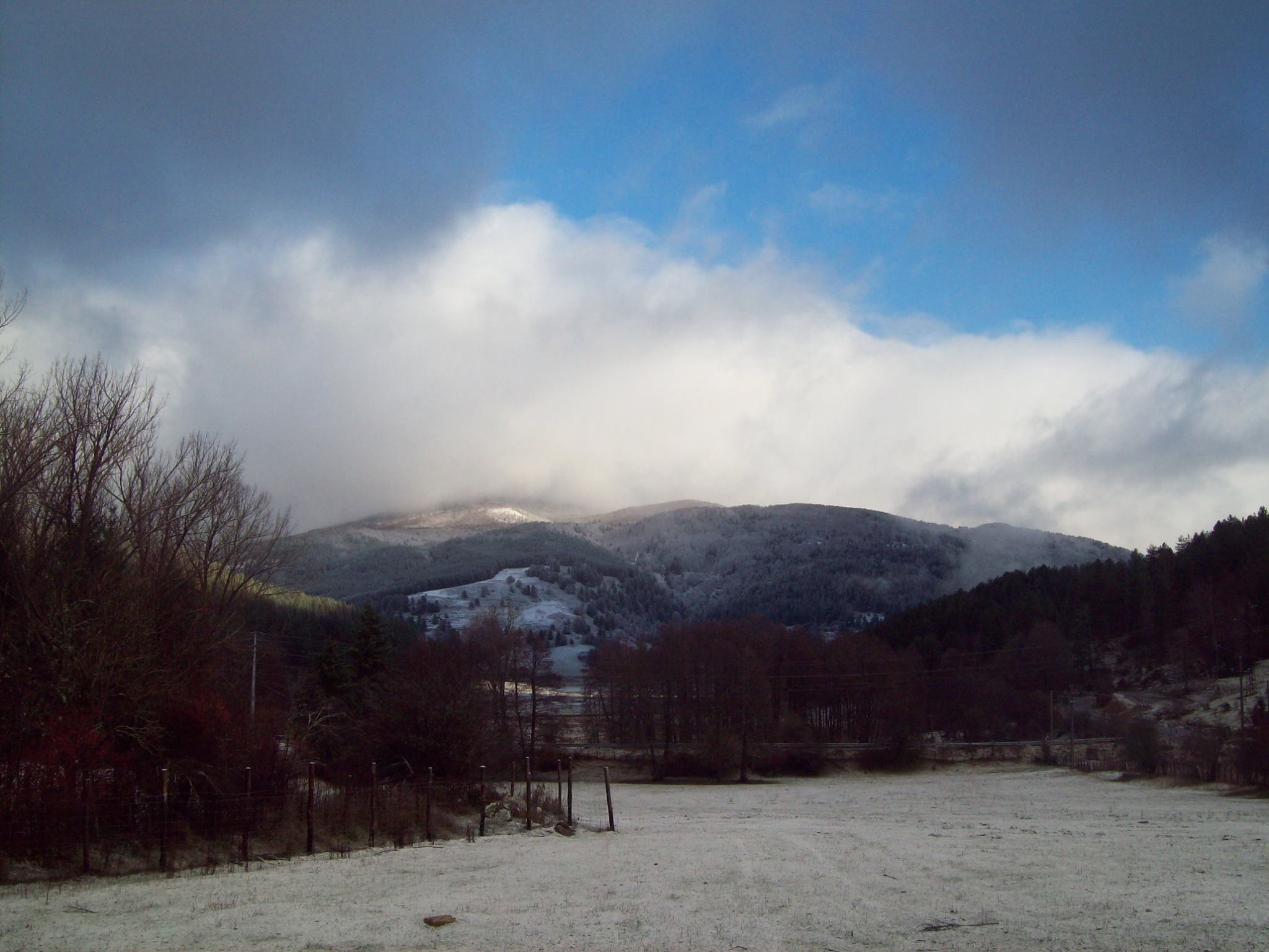 Da mercoledì pomeriggio nuovo peggioramento con piogge e neve sui monti.