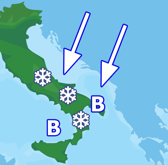 Artico dinuovo protagonista: stavolta tanto maltempo e copiose nevicate
