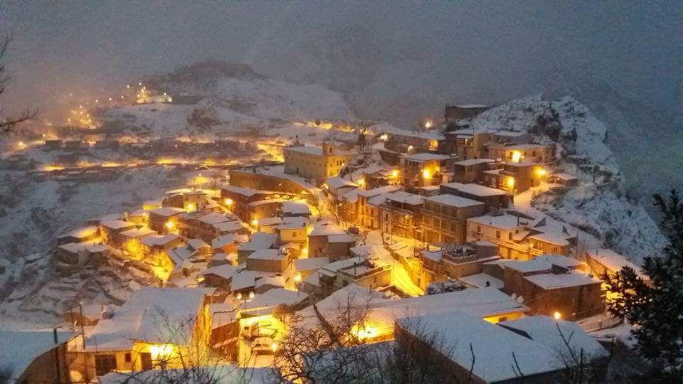 Venerdì clou del freddo con nevicate su reggino e vibonese.