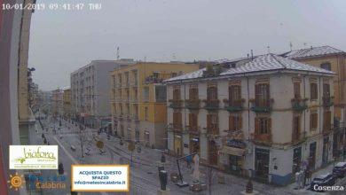 Resoconto climatico di gennaio 2019 in Calabria: molto freddo, piovoso, nevoso.