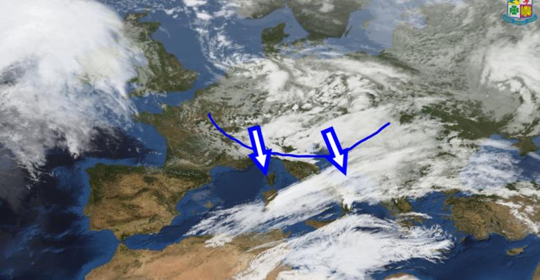 Rapido maltempo per martedì sulla Calabria: freddo, neve, venti intensi.
