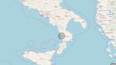 Terremoto Calabria 15-05-2019