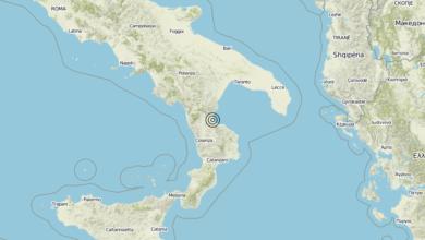 Terremoto Calabria 29-05-2019