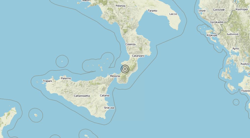 Terremoto Calabria 31-05-2019