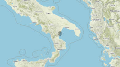 Terremoto Calabria 03-06-2019